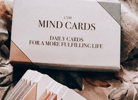 The Little Mindfulness Cards Which Helped Me Smile