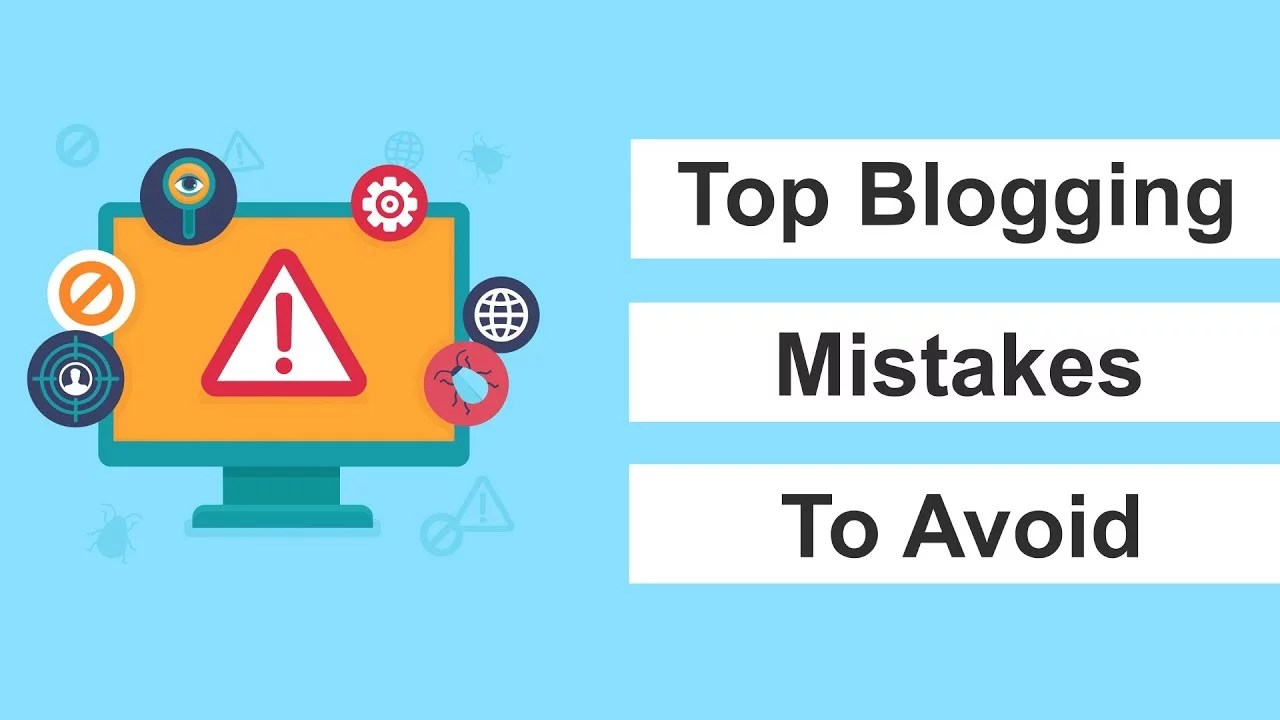 Common Mistakes Blogging