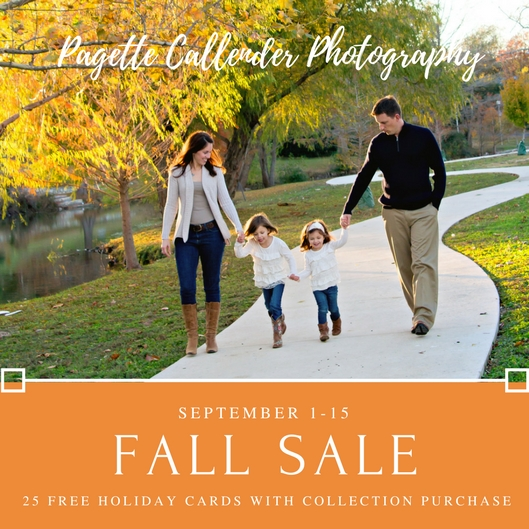 San Antonio Family Photographer - Free Fall Session Holiday Cards