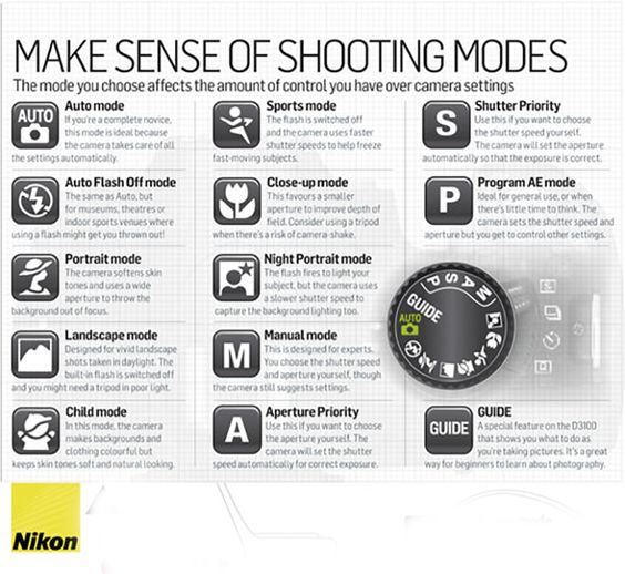 Photography Basics Understanding Camera Modes
