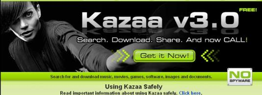 KaZaA manipula archivos del sistema