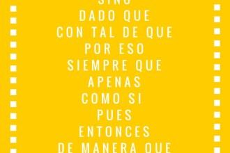 conjunciones en español