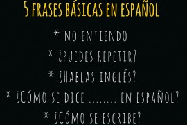 basic spanish phrases