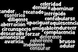 palabras avanzadas en español