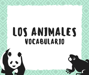 Juego de vocabulario sobre los animales