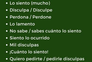 12 Frases en español para pedir perdón