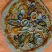 pizza de marisco – pizzeria marcello playa del ingles