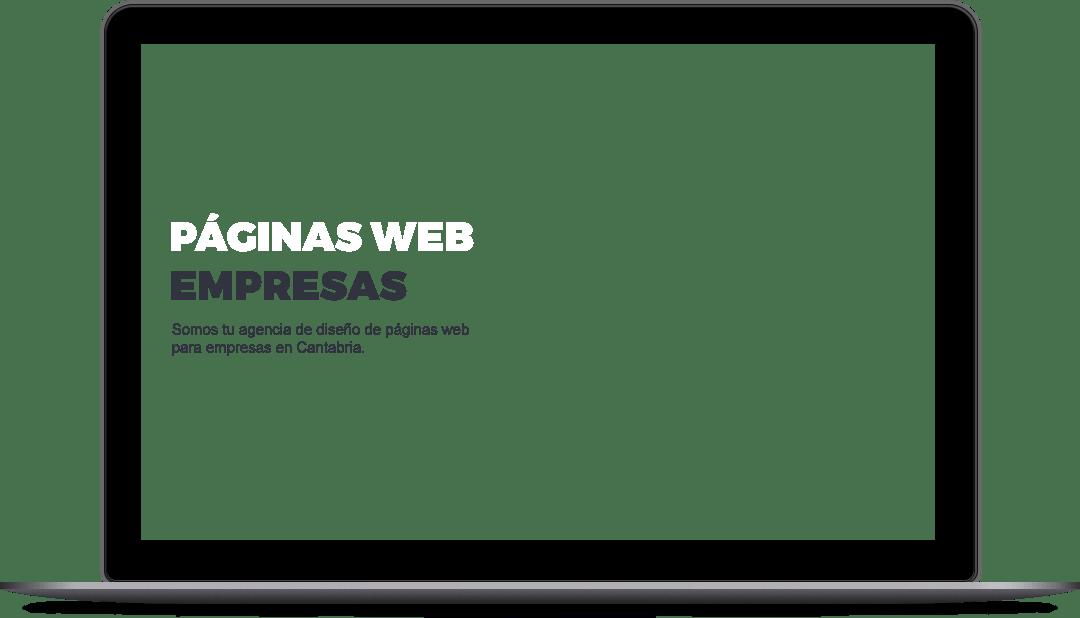 Páginas web para empresas en Cantabria