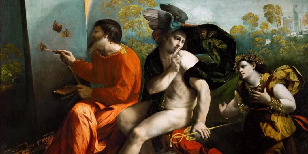Mercurio e la virtù