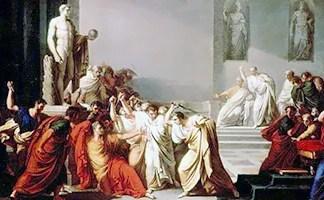 Vincenzo Camuccini, Morte di Cesare, 1798