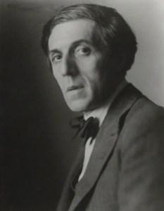 Il poeta Humbert Wolfe in un ritratto di Walter Benington, conservato presso la National Portrait Gallery di Londra
