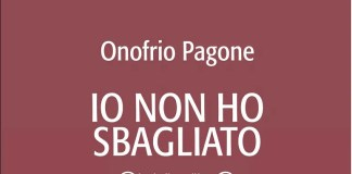 Copertina libro Io non ho sbagliato di Onofrio Pagone