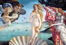 Nascita di Venere. Sandro Botticelli