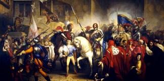 L'entrata di Carlo VIII a Firenze (1829). Giuseppe Bezzuoli (1784 – 1855)
