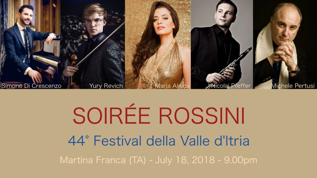 Un Rossini da scoprire al Festival della Valle d'Itria