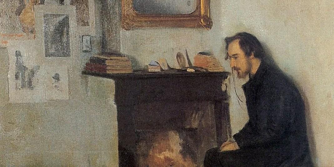 Portrait of Eric Satie. Santiago Rusinol