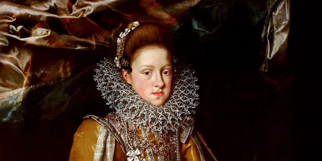 Frans Pourbus the Younger (1569–1622). Portrait of Archduchess Maria Maddalena of Austria (1589-1631)