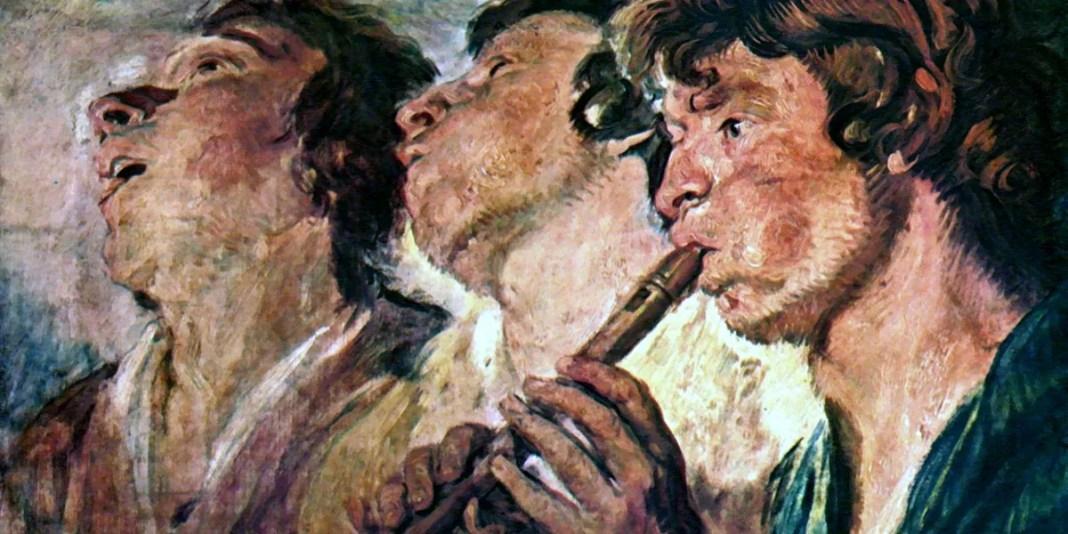 Three Musicians. Jacob Jordaens