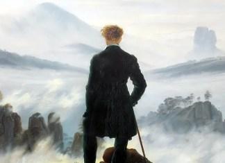 The Sea of Fog di Caspar David Friedrich
