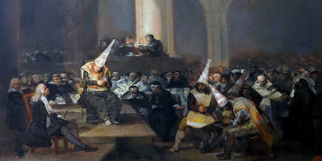 Francisco de Goya – Escena de Inquisición