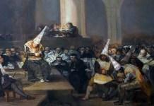 Francisco de Goya – Escena de Inquisición