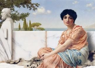 In the Days of Sappho di John William Godward
