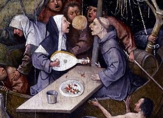 Nave dei folli di Hieronymus Bosch, circa 1494