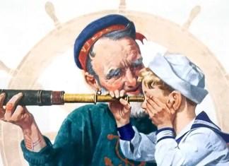 Sailors (1922). Norman Rockwell