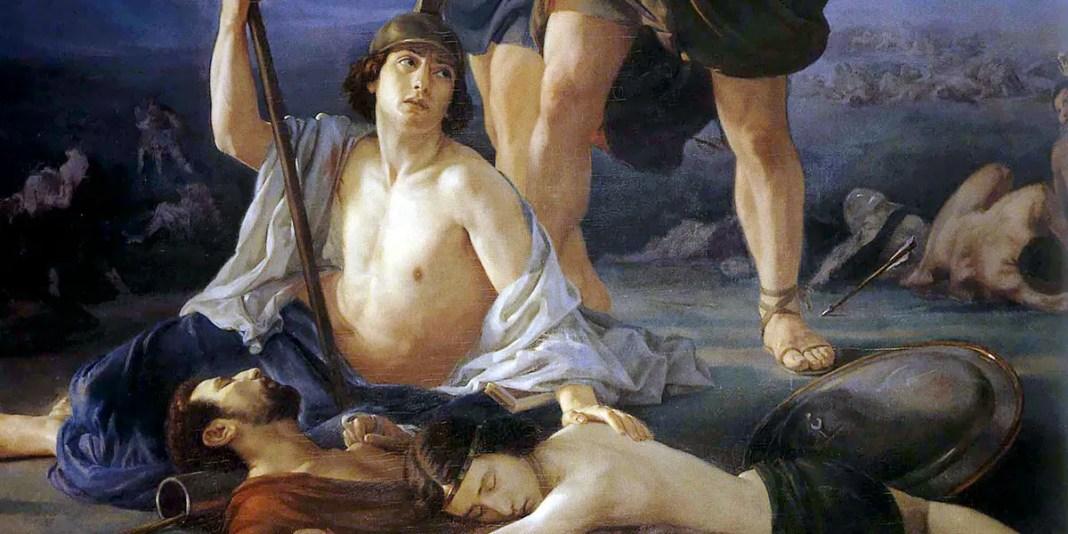 """Morte di re Saul"" di Elie Marcuse"