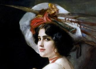 August von Kaulbach (1850–1920). Rosario Guerrero als Carmen