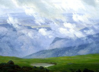 Drifting Clouds. Caspar David Friedrich