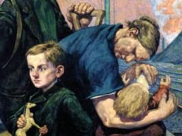 Hans Baluschek: Die Auswandernden, 1924