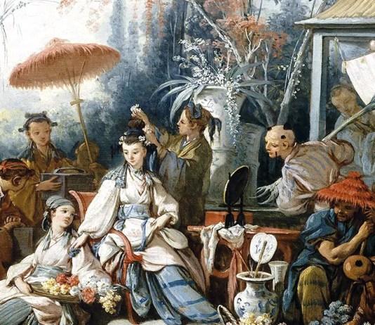 Le Jardin chinois. François Boucher