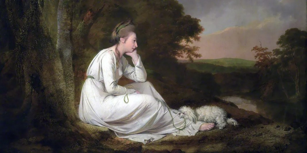 Maria, from Sterne. Joseph Wright of Derby (1734–1797)