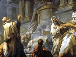 Jeroboam Offering Sacrifice for the Idol. Jean-Honoré Fragonard