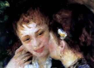 Confidences, Pierre-Auguste Renoir (1878)