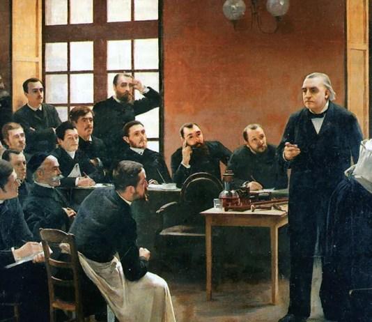 A Clinical Lesson at the Salpêtrière (1887, detail). André Brouillet