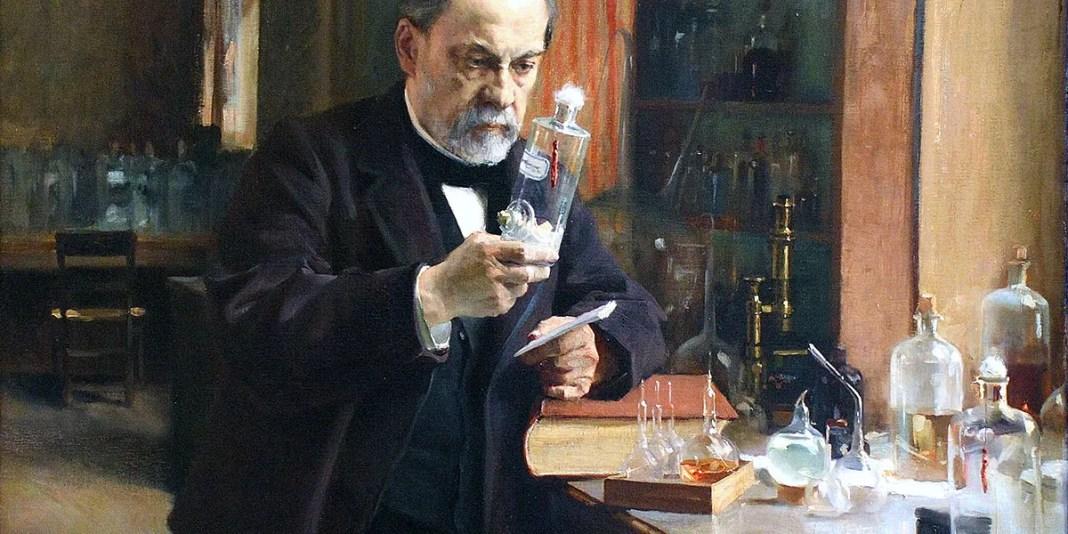 Louis Pasteur. Albert Edelfelt