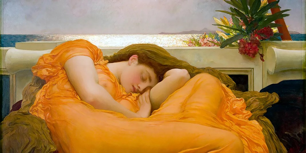 Flaming June, by Frederic Leighton (1895)