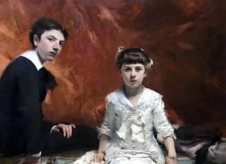 Ritratto di Édouard e Marie-Louise Pailleron. John Singer Sargent