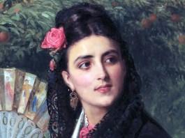 A Spanish Beauty. John Bagnold Burgess