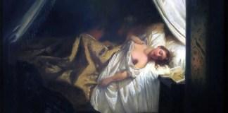 Eugene Delacroix, The Vampire, 1825