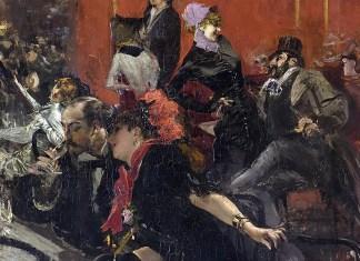 Scena di Festa. Giovanni Boldini