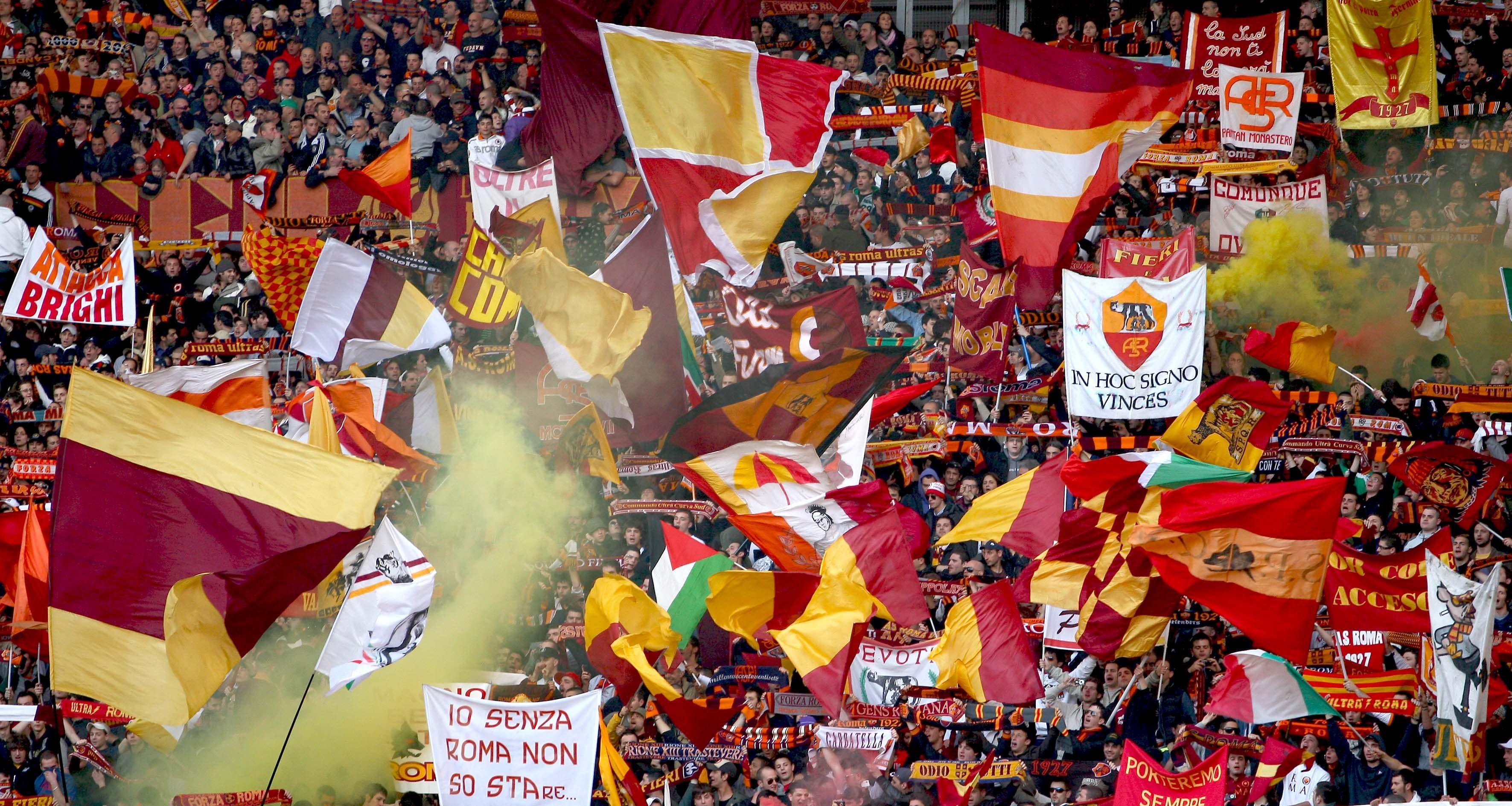 Roma, Monchi in Curva Sud per il derby di ritorno?