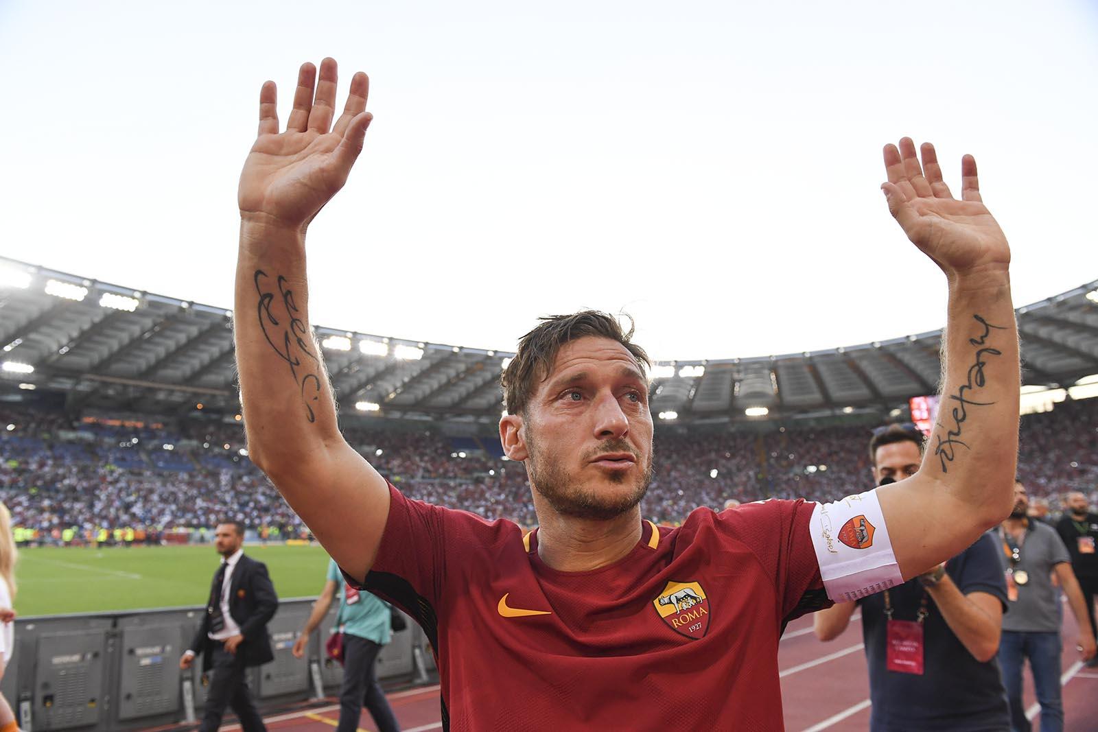 Roma, Totti si aggiudica il
