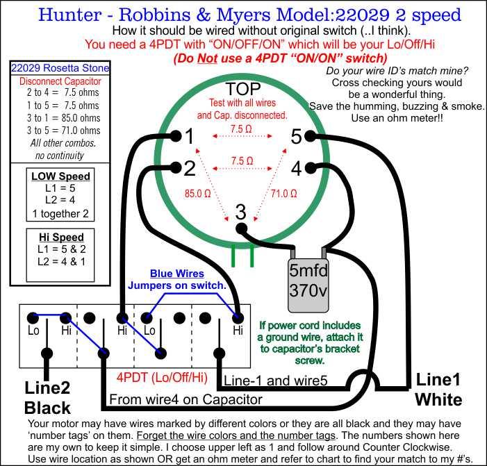 hunter floor fan wire diagramcorrect jpg 3 speed fan switch wiring diagram nilza net 701 x 671