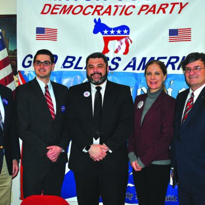 Riding 'a blue wave' Democrats upbeat at annual county dinner