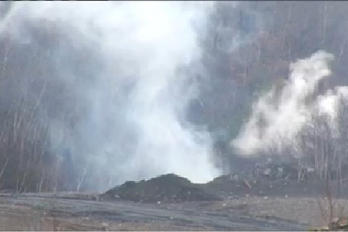 Mine Fire Jeansville_-6153980705465809221
