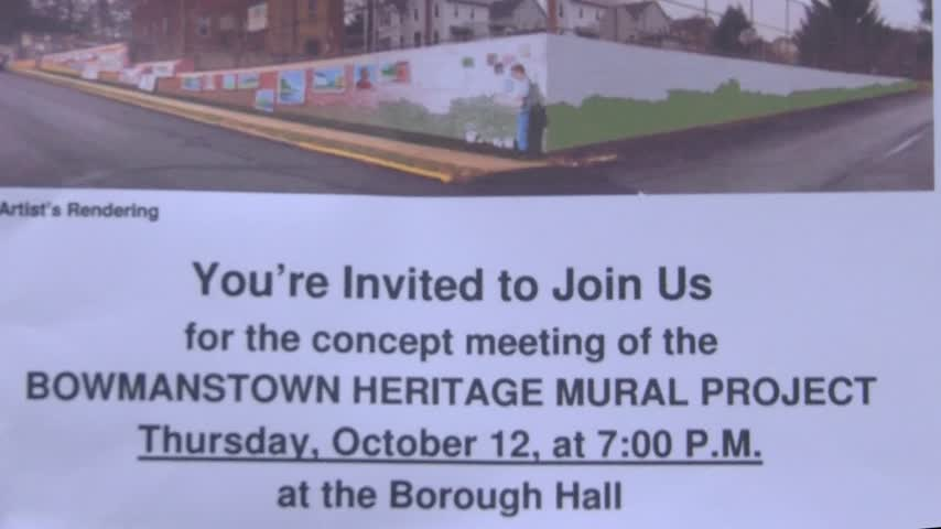 Bowmanstown Mural Project