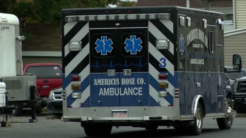 Stolen Danville Ambulance 5:30 pm